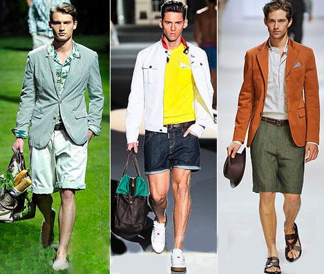 Мужская мода весна – лето 2014 на фото