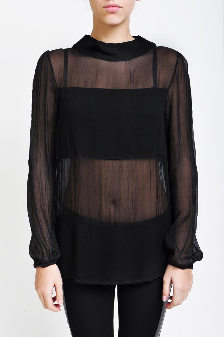 Прозрачная Блузка С Доставкой