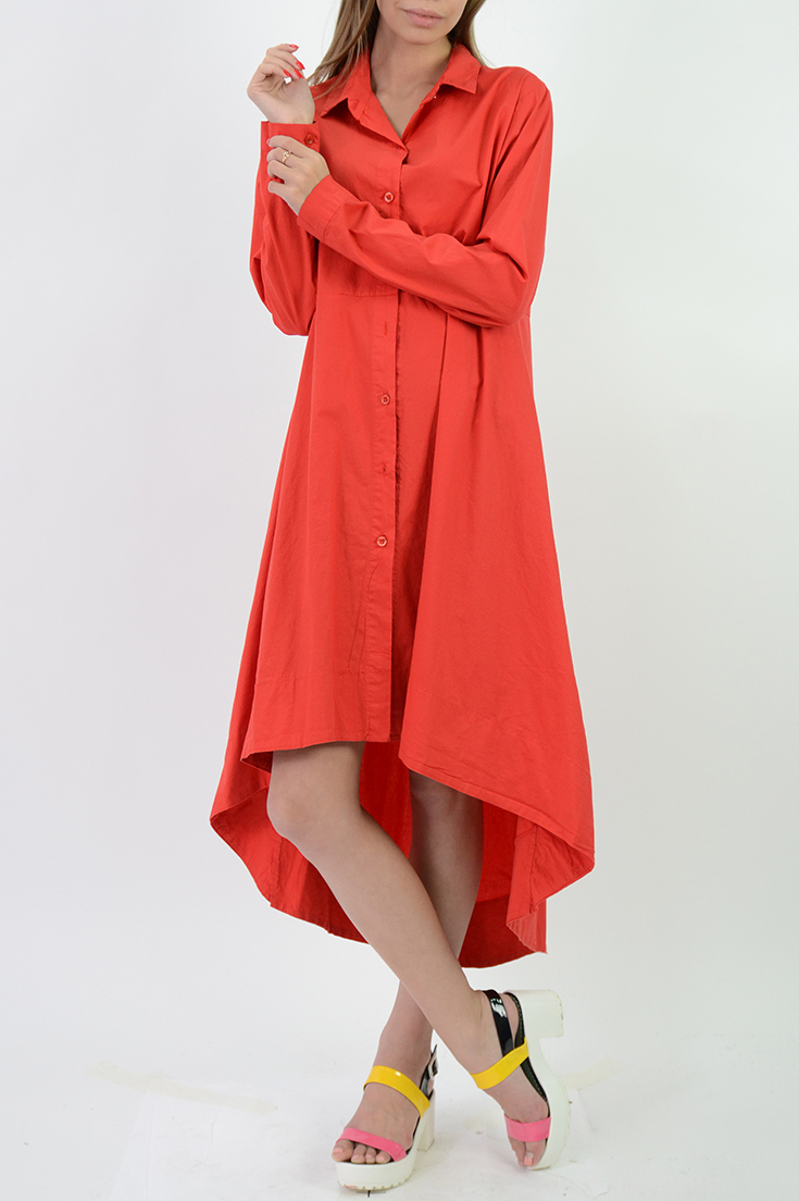 Платья рубашки свободного кроя