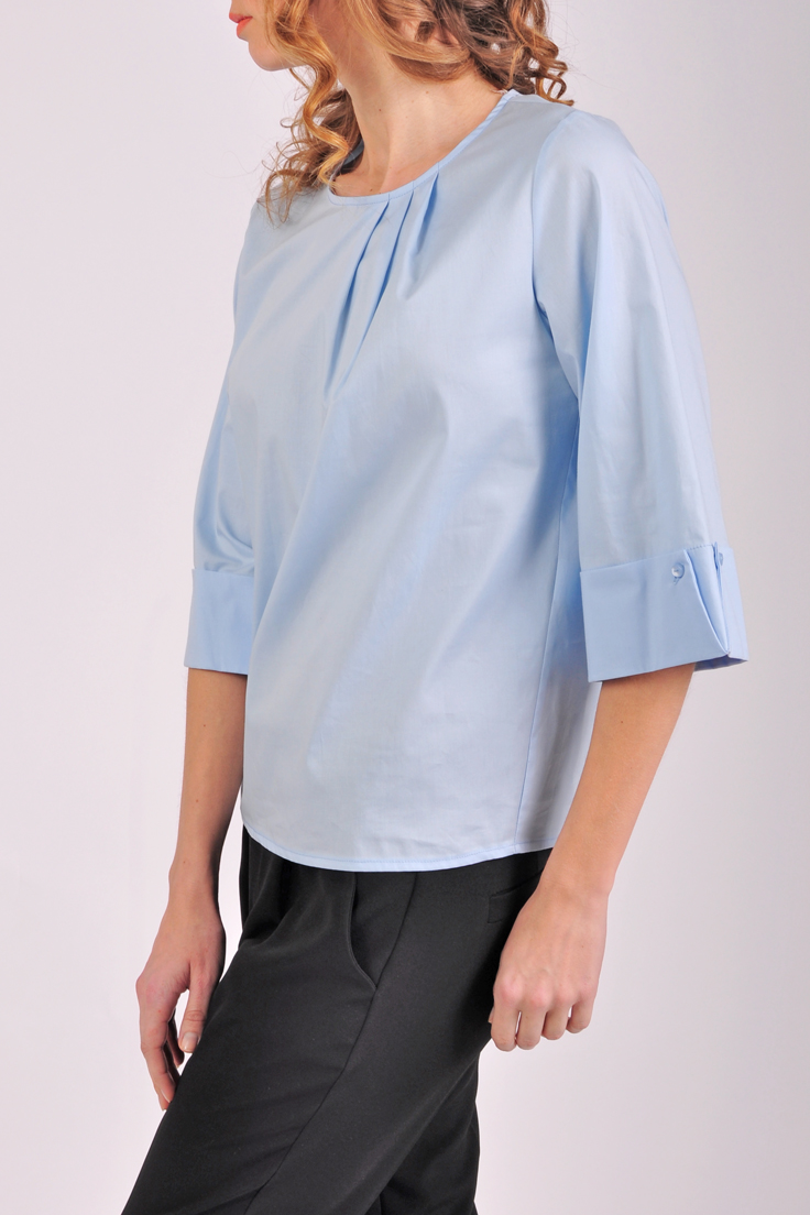 Блузка С Прозрачными Рукавами В Омске