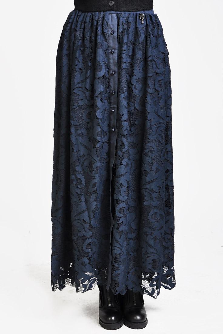 Гипюровые длинные юбки фото