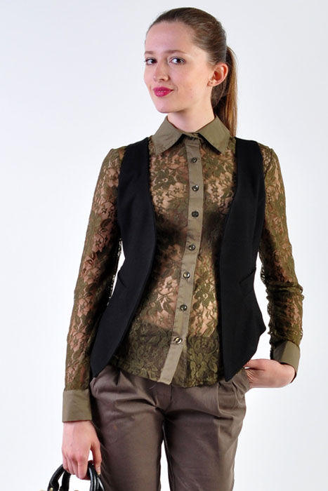 Блузка С Жилеткой С Доставкой