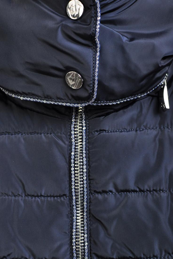 fdb928a6bd74 Купить прошитый пуховик armani jeans тёмно-синий цвет Z5K16UA 1014 ...